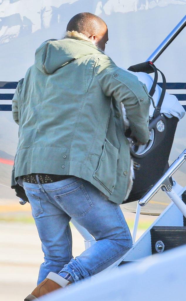 Kanye West, Plane
