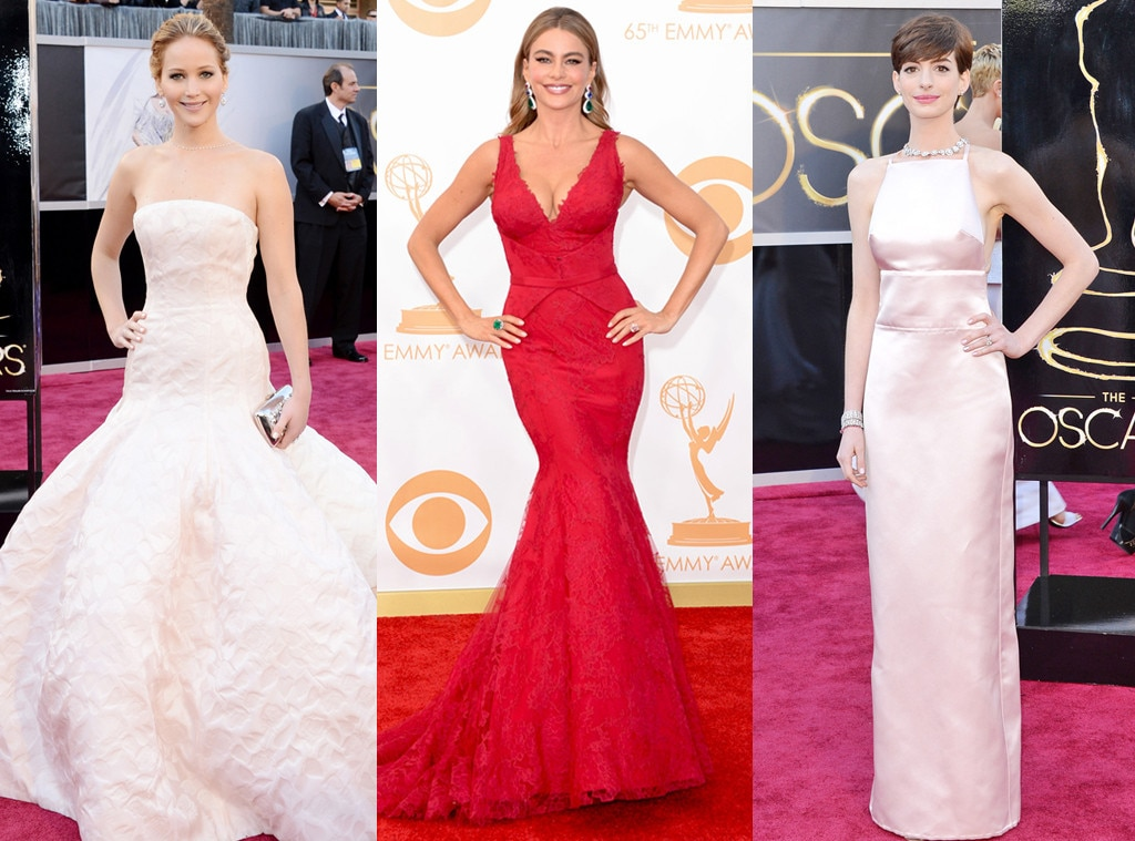 Jennifer Lawrence, Sofia Vergara, Anne Hathaway