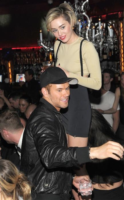 Kellan Lutz, Miley Cyrus
