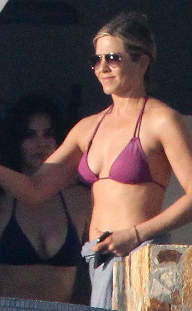 Jennifer Aniston, Courteney Cox