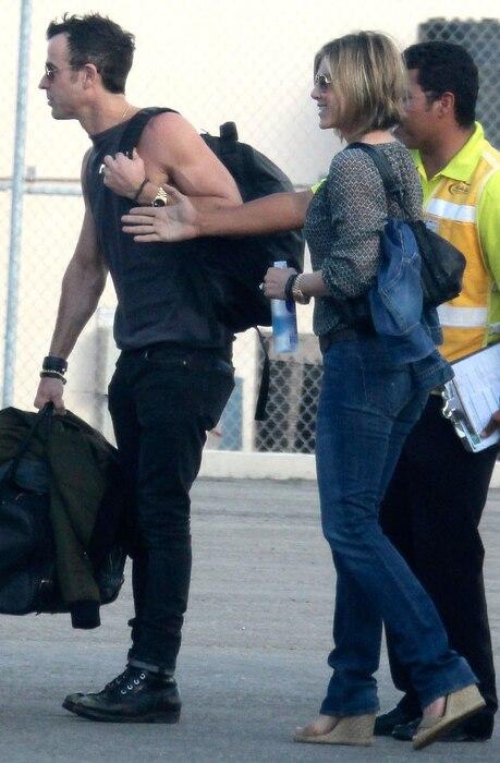 Jennifer Aniston, Justin Theroux, Vacation