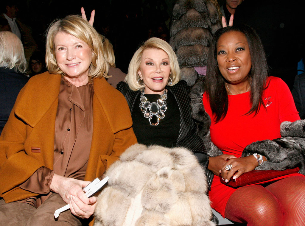 Martha Stewart, Joan Rivers, Star Jones, Famous Friends
