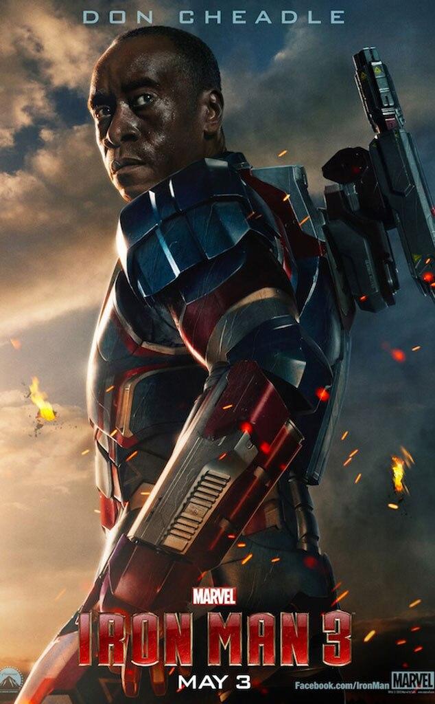 Don Cheadle, Iron Man 3 Poster