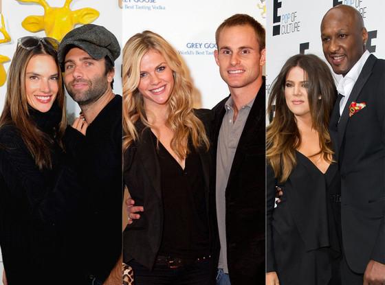 Alessandra Ambrosio, Jamie Mazur, Brooklyn Decker, Andy Roddick, Khloe Kardashian, Lamar Odom
