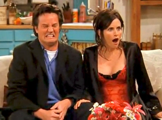 Matthew Perry, Courteney Cox, Friends