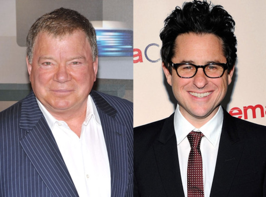 William Shatner, J.J. Abrams
