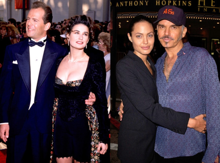 Angeline Jolie Billy Bob Thorton Bruce Willis Demi Moore