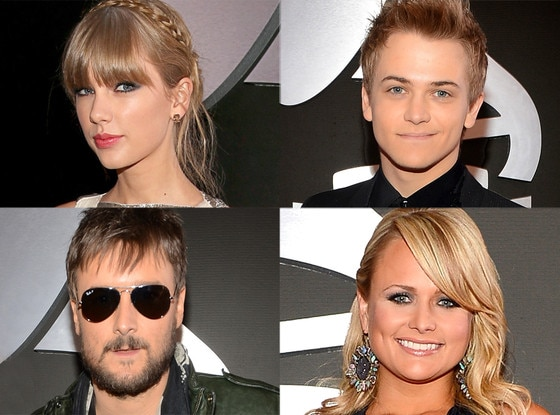 Eric Church, Hunter Hayes, Miranda Lambert, Taylor Swift