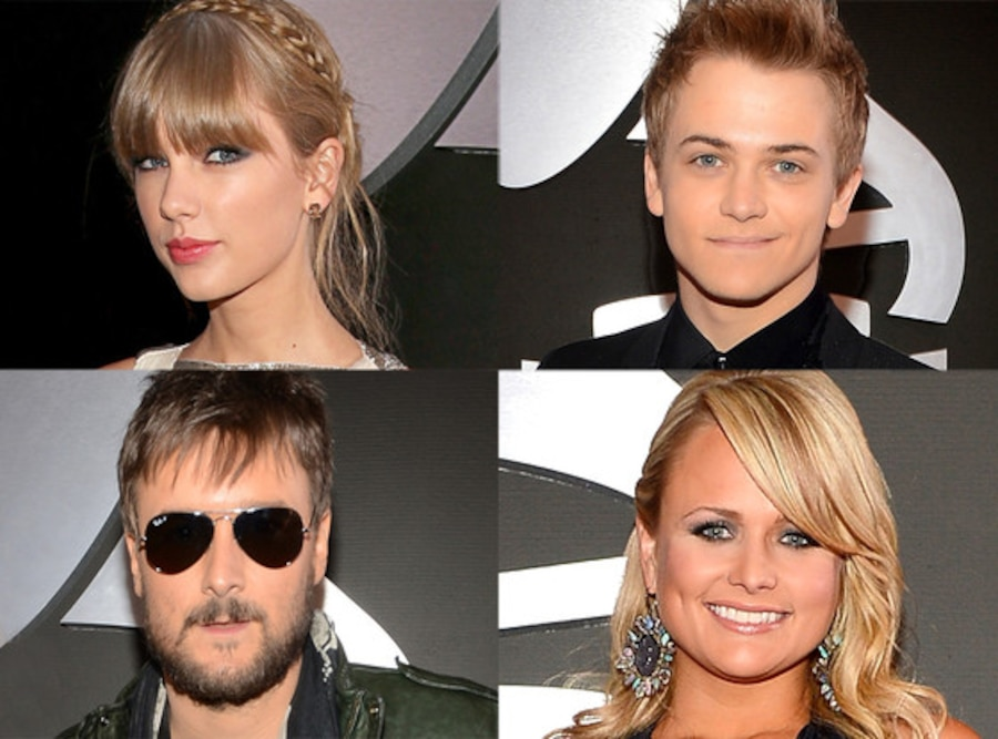 Eric Church, Hunter Hayes, Miranda Lambert, Taylor Swift
