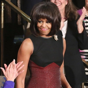 Michelle Obama stuns in red Jason Wu gown at president's inauguration ball recommend