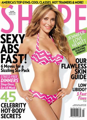 Jennifer Love Hewitt, Shape