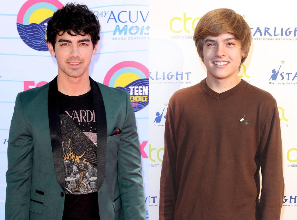 Joe Jonas, Dylan Sprouse, Split