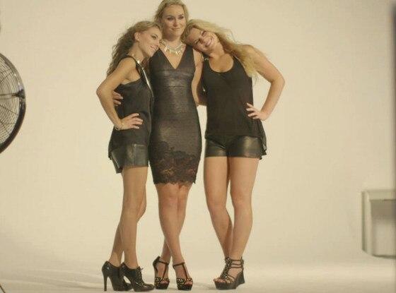 Lindsey Vonn, Sisters