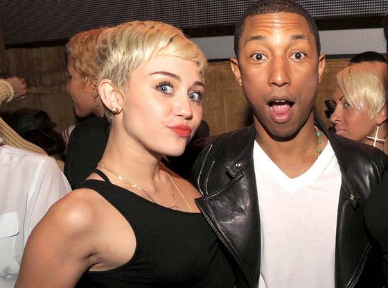 Miley Cyrus, Pharrell Williams
