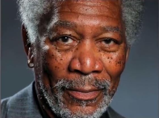 Morgan Freeman, iPad Air Painting