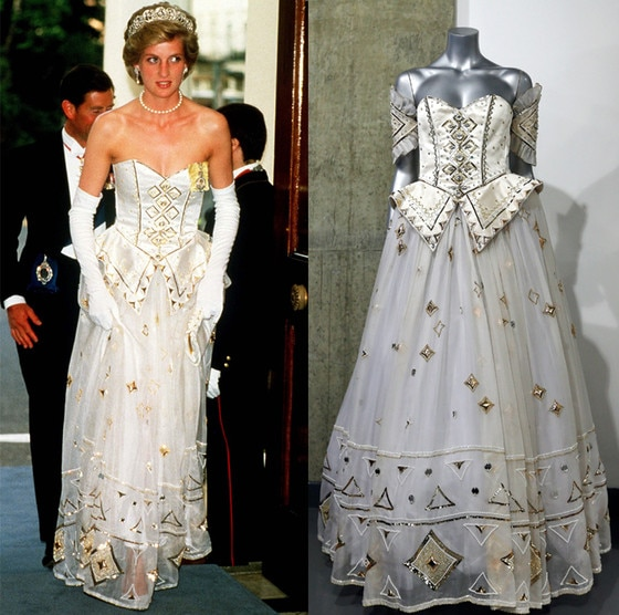 Princess Diana, Gown