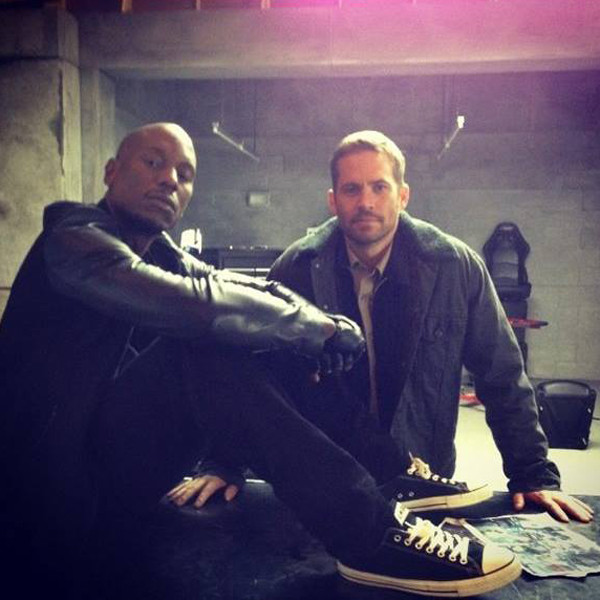 Tyrese, Paul Walker, Instagram