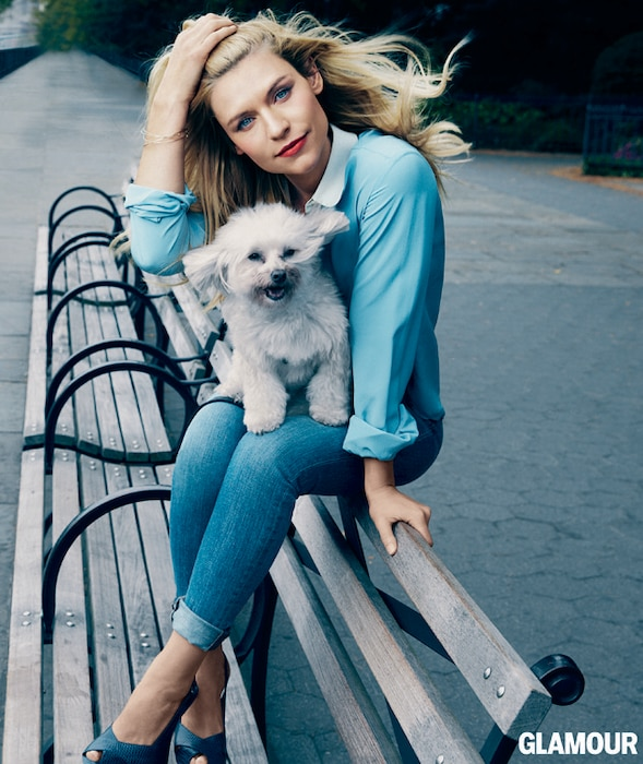 Claire Danes, Glamour, Dog
