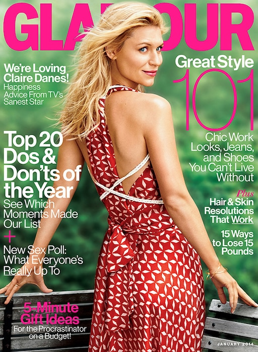 Claire Danes, Glamour, Cover