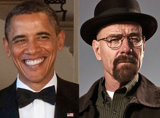 President Obama, Walter White