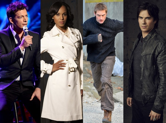 Josh Holloway, Kerry Washington, Harry Connick Jr., Ian Somerhalder