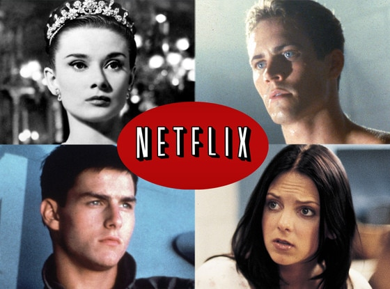Netflix, Paul Walker, The Skulls Tom Cruise, Top Gun Audrey Hepburn, Roman Holiday Anna Farris, Scary Movie