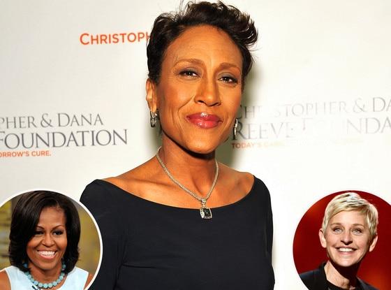 Robin Roberts, Michelle Obama, Ellen DeGeneres