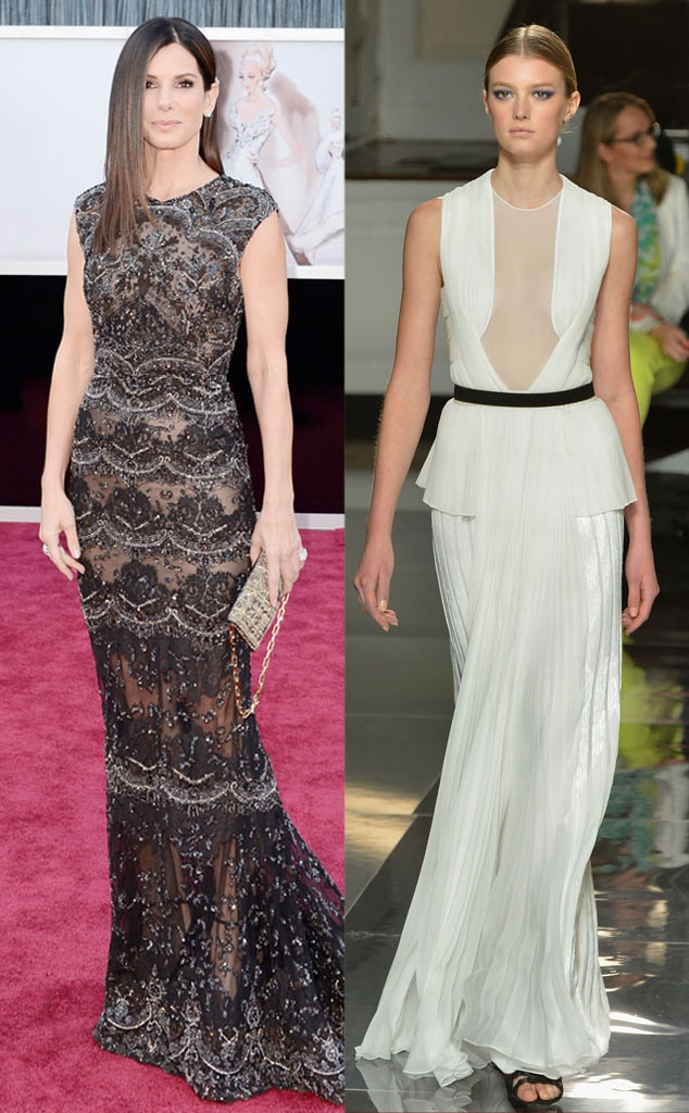 Golden Globe Gown Predictions, Sandra Bullock