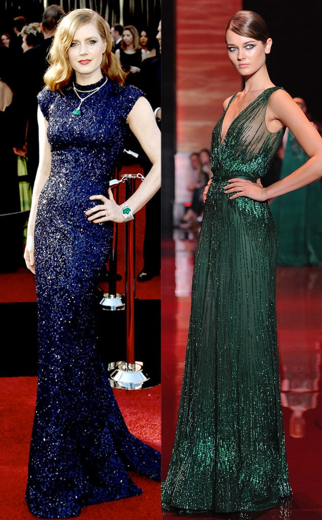 Golden Globe Gown Predictions, Amy Adams