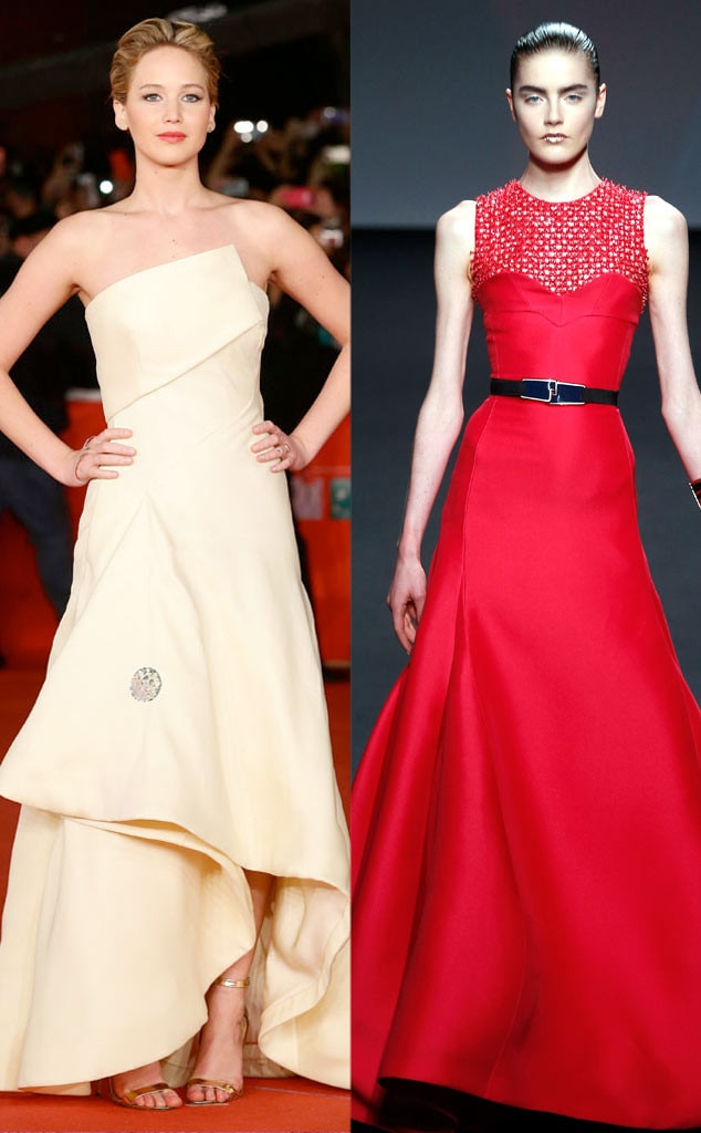 Golden Globe Gown Predictions, Jennifer Lawrence