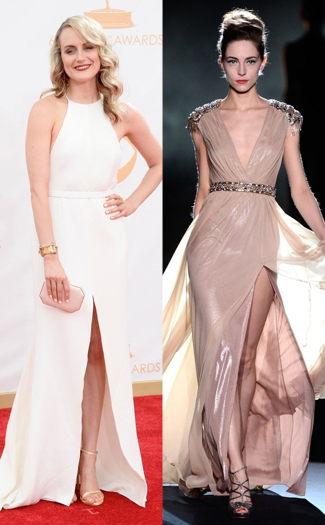 Golden Globe Gown Predictions, Taylor Schilling