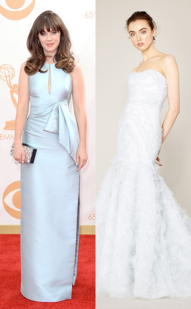 Golden Globe Gown Predictions, Zooey Deschanel