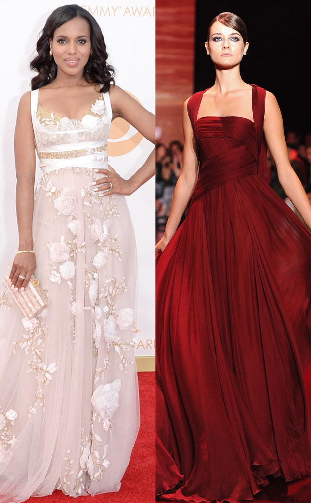 Golden Globe Gown Predictions, Kerry Washington