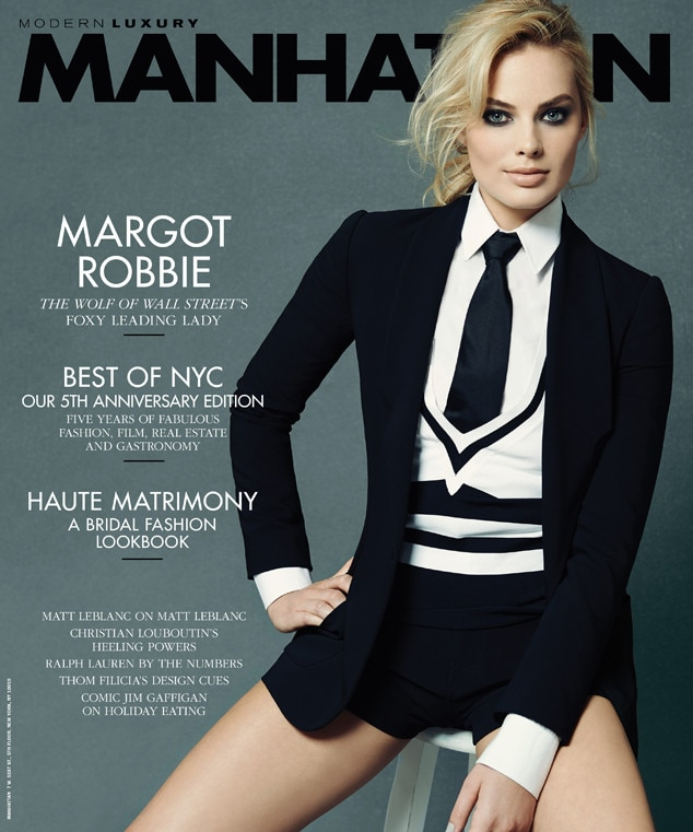Margot Robbie, Manhattan Magazine