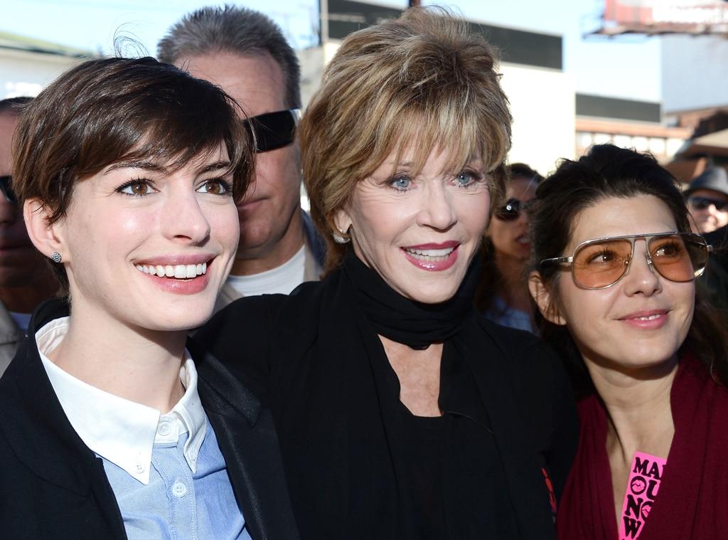 Anne Hathaway, Jane Fonda, Marisa Tomei