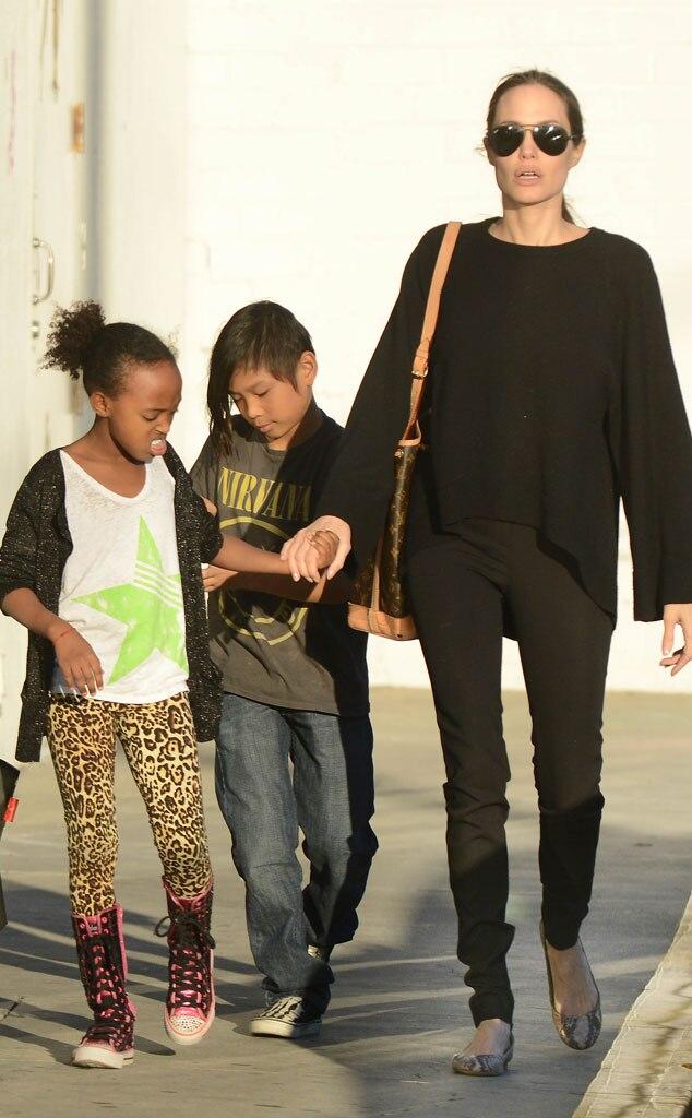 Angelina Jolie, Pax, Zahara