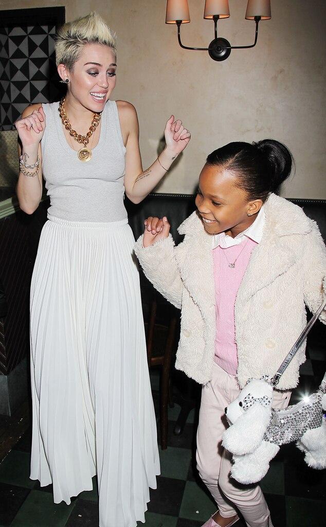 Miley Cyrus, Quvenzhané Wallis
