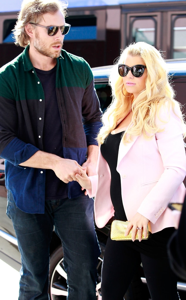 Jessica Simpson, Eric Johnson, Valentine's Day