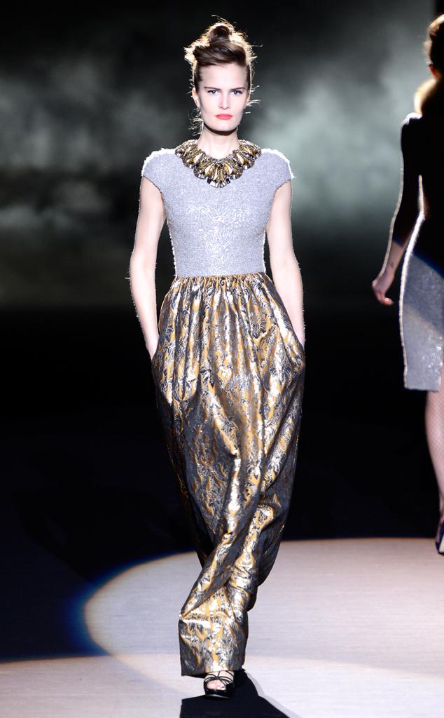 Badgley Mischka, Fall 2013, New York Fashion Week