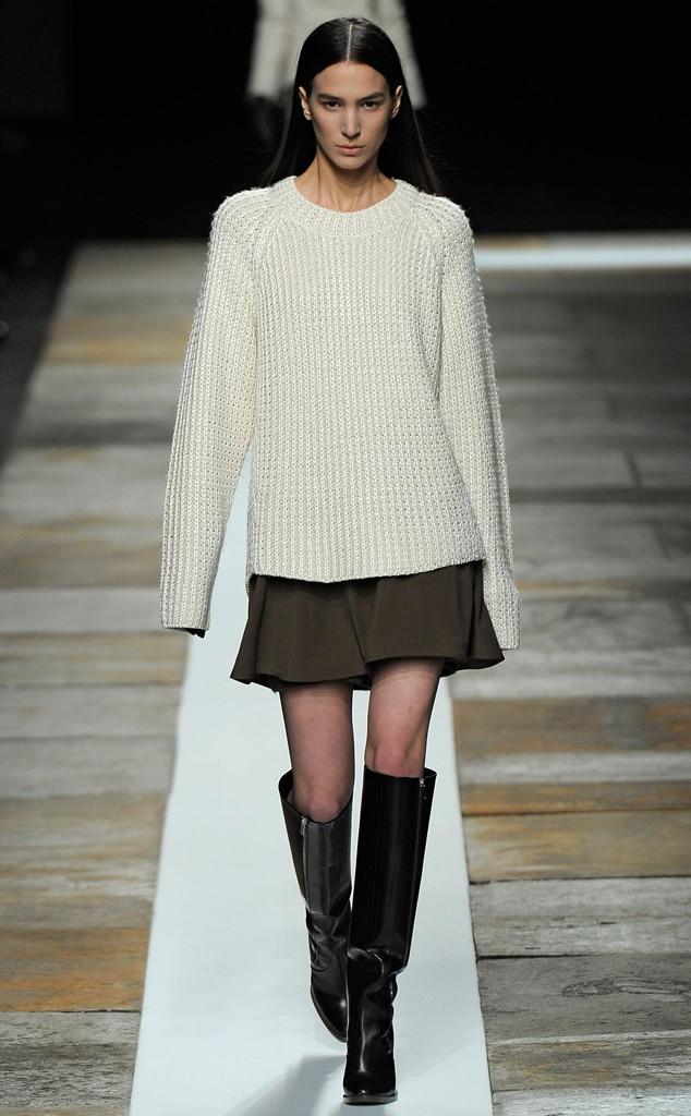 Theyskens' Theory, Fall 2013, New York Fashion Week