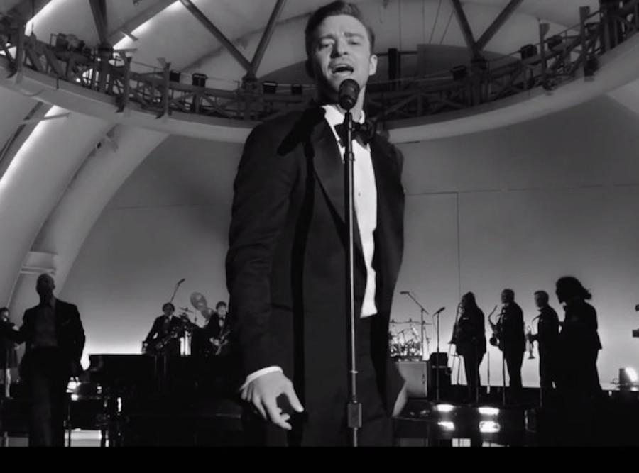 Justin Timberlake, Suit & Tie video