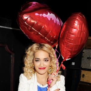 Rita Ora, Valentine's Day, Balloons