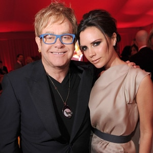 Elton John, Victoria Beckham