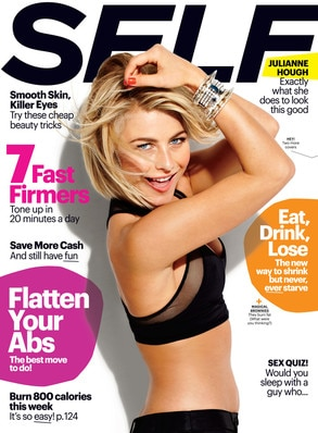Julianne Hough, Self Magazine