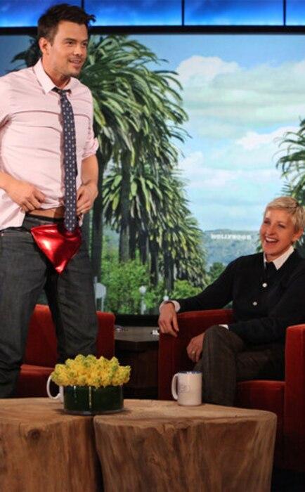 Josh Duhamel, Ellen DeGeneres