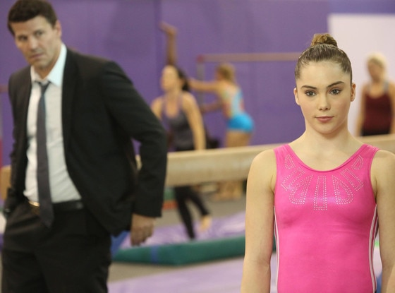 McKayla Maroney, David Boreanaz