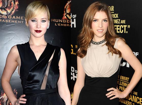 Jennifer Lawrence, Anna Kendrick