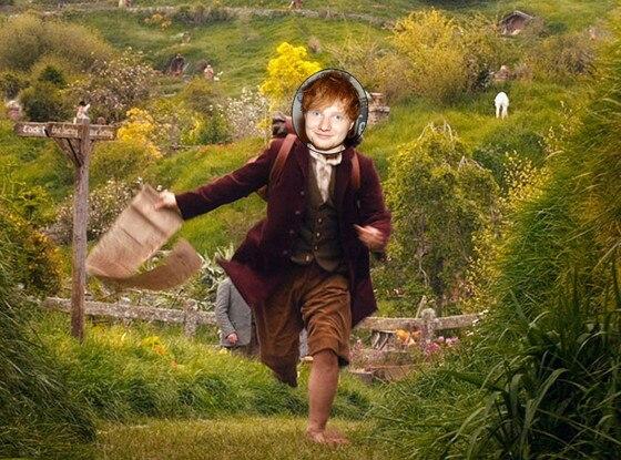 Ed Sheeran Hobbit
