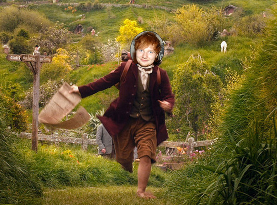 The Hobbit, Ed Sheeran