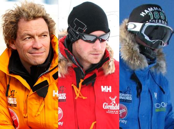 Antarctic Hunks, Alexander Skarsgard, Prince Harry, Dominic West